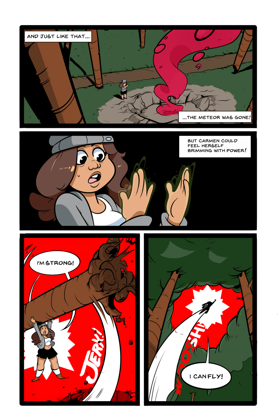 the secret origins of salvadora 4